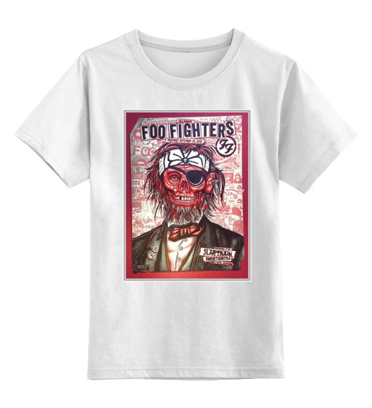 Детская футболка классическая унисекс Printio Foo fighters band foo fighters foo fighters skin