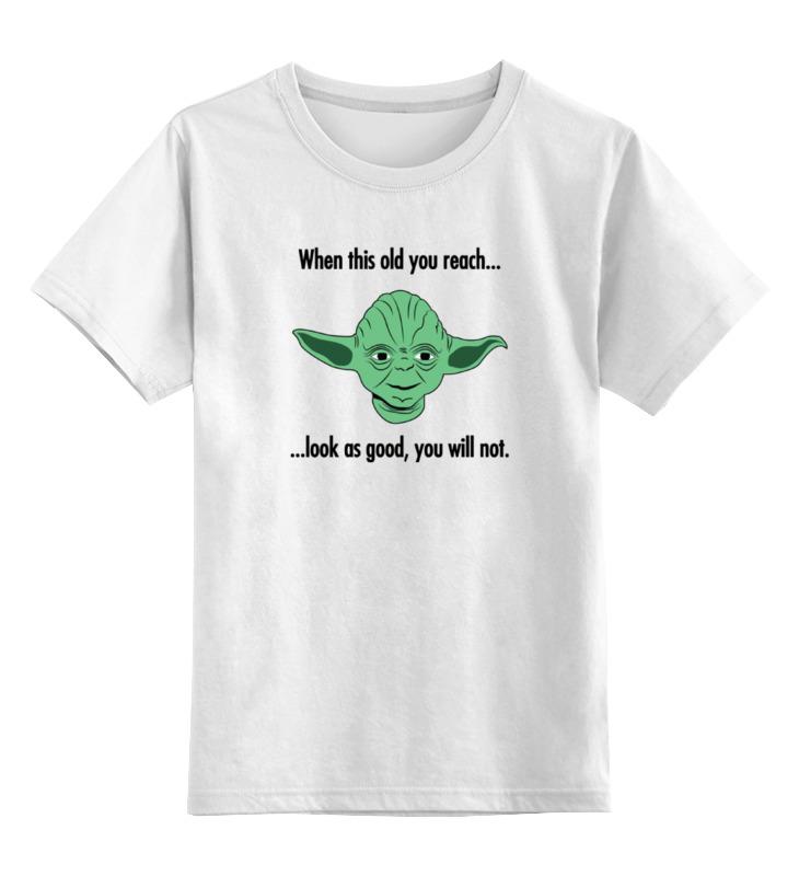 Детская футболка классическая унисекс Printio Магистр йода (звездные войны) майка классическая printio магистр йода звездные войны