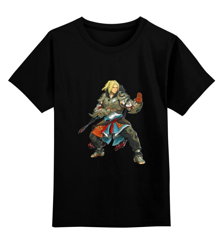 Детская футболка классическая унисекс Printio Black desert.