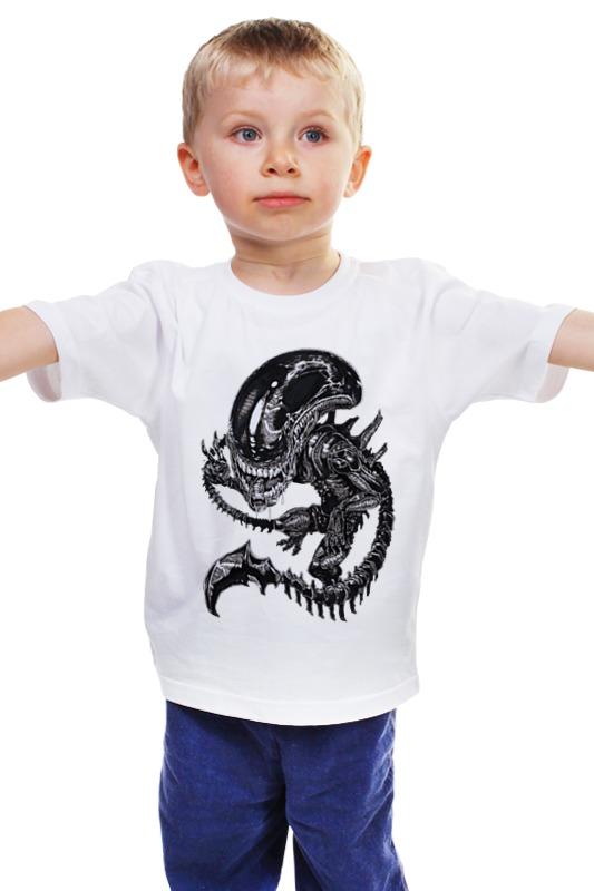 Детская футболка классическая унисекс Printio Чужой / alien детская футболка классическая унисекс printio мачете убивает