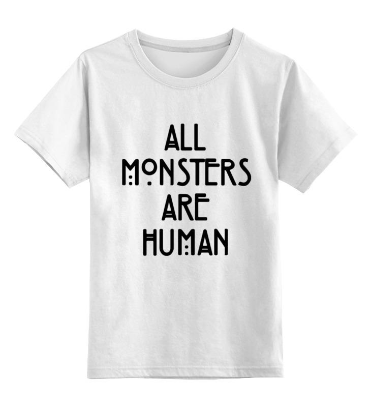 Детская футболка классическая унисекс Printio Aмериканская история ужасов пальто alix story alix story mp002xw13vur