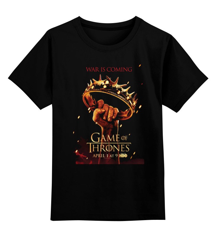 Детская футболка классическая унисекс Printio Игра престолов / games of trones футболка wearcraft premium printio игра престолов games of trones