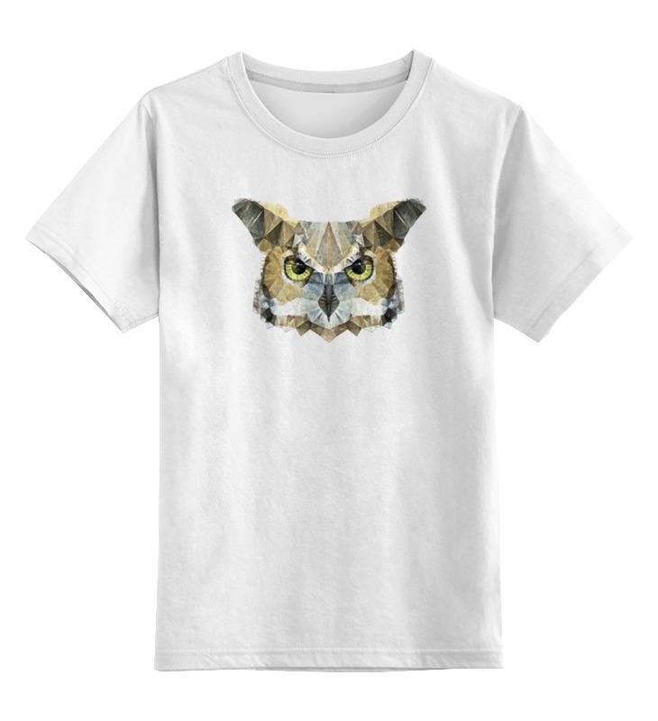 Детская футболка классическая унисекс Printio Абстрактная сова детская футболка классическая унисекс printio бразилия