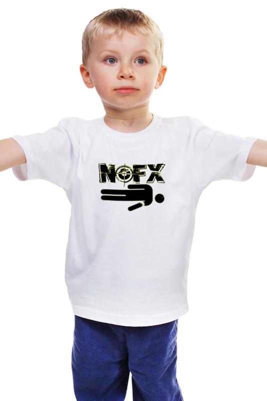 Детская футболка классическая унисекс Printio Панк-группа nofx панк футболки в минске