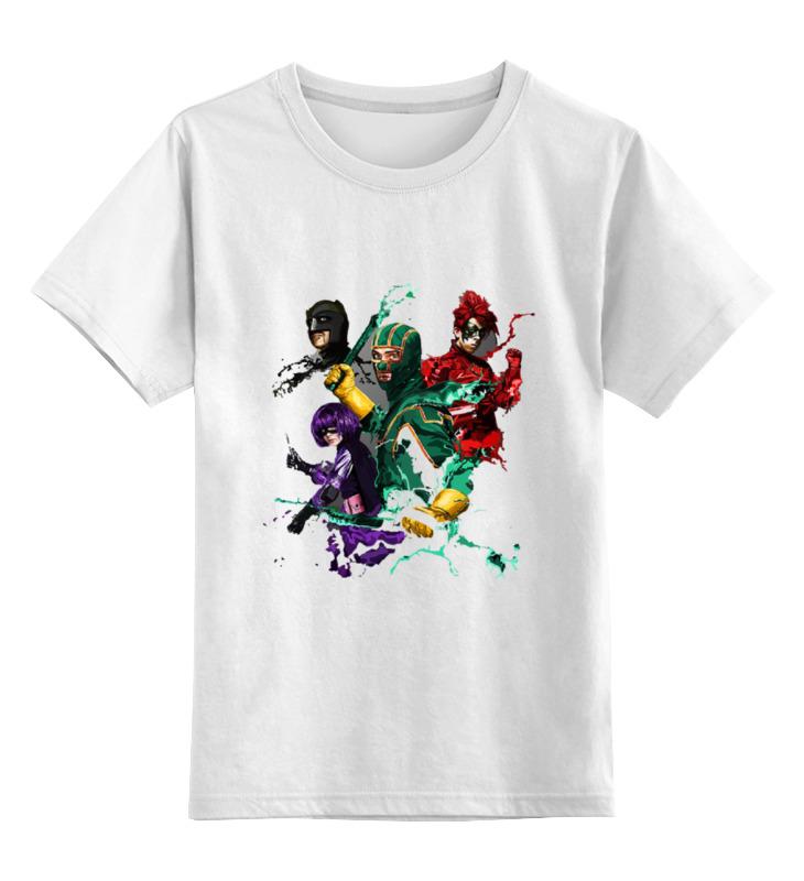 Детская футболка классическая унисекс Printio Kick-ass футболка toy machine kick ass black