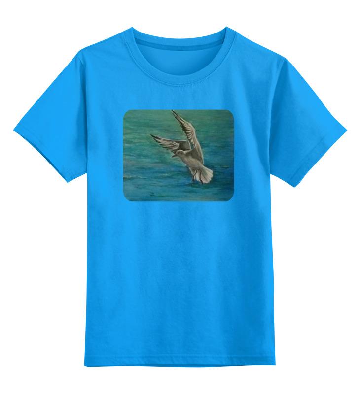 Детская футболка классическая унисекс Printio Чайка бомбер printio чайка