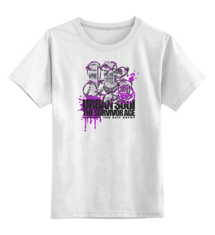 Детская футболка классическая унисекс Printio Urban soul велосипед khs urban soul 2016