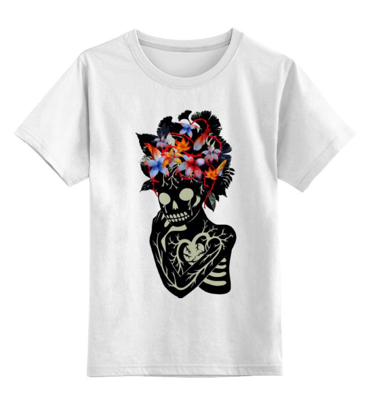 Детская футболка классическая унисекс Printio Skull art футболка рингер printio skull art