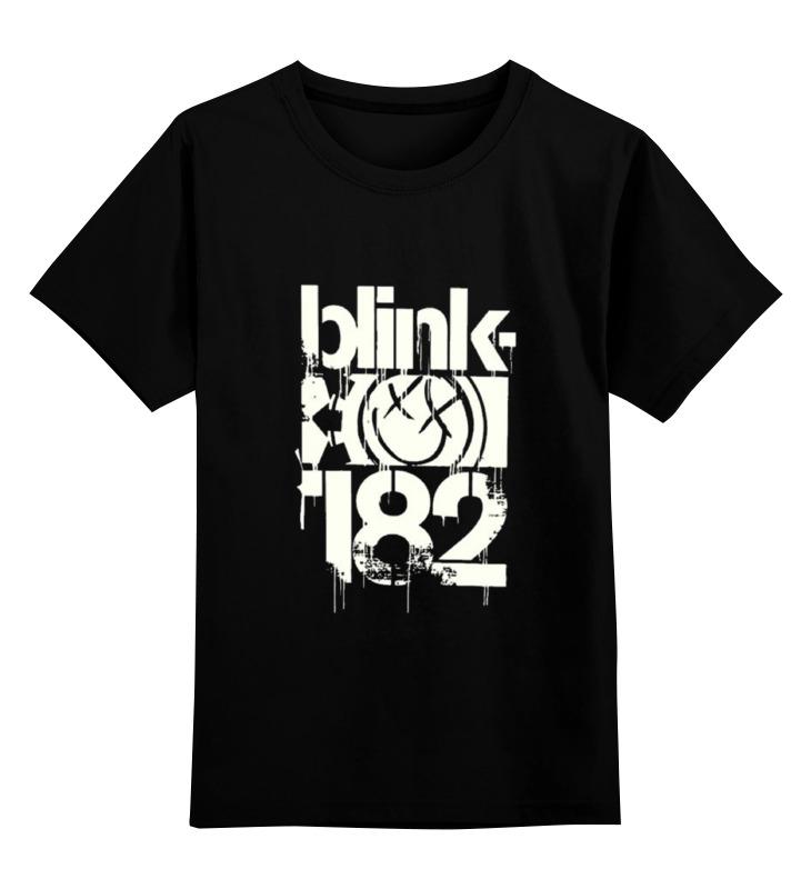 Детская футболка классическая унисекс Printio Blink-182 детская футболка классическая унисекс printio blink 182 band