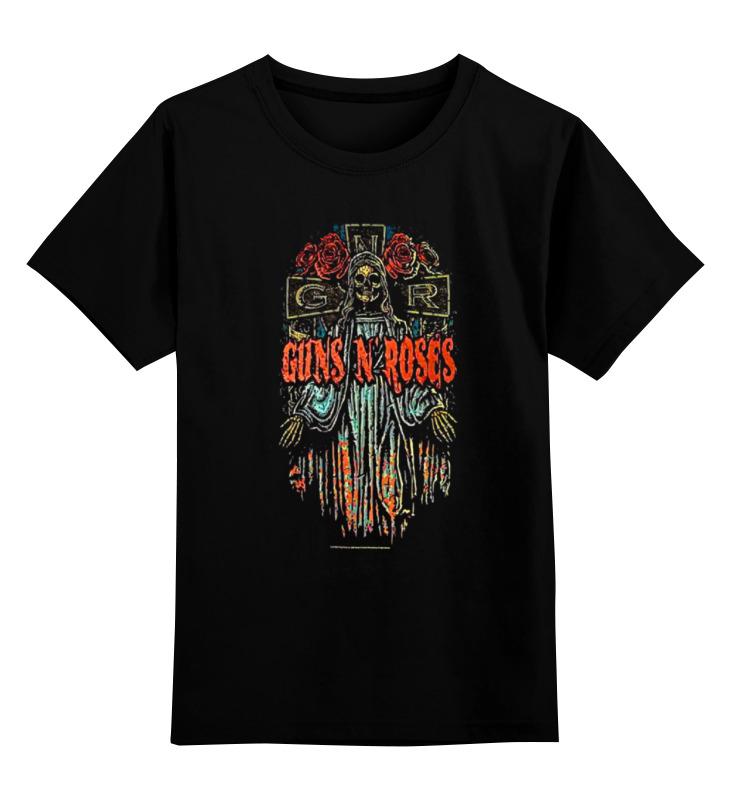 Детская футболка классическая унисекс Printio Guns n' roses