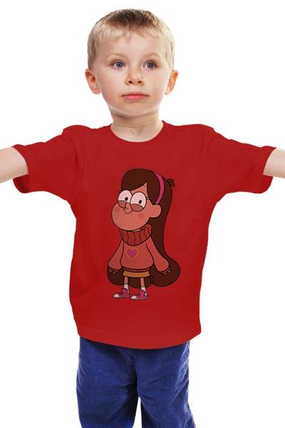 """Детская футболка классическая унисекс """"Гравити Фолз  """" - gravity falls, мэйбл пайн"""