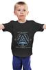 """Детская футболка классическая унисекс """"city of angels - 30 seconds to mars"""" - музыка, майка, рок, rock"""
