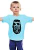 """Детская футболка классическая унисекс """"Мужская футболка с принтом от idiotstile"""" - борода, усы, beard, бородачи, усачи, borodachi, mustaches, beardart, beard4fun, beardpower"""