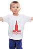 "Детская футболка ""москва"" - москва, moscow, olympics"