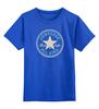 "Детская футболка классическая унисекс ""CONVERSE ALL STAR"" - converse, кеды, конверс, конверсы, converse all star"