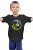 """Детская футболка """"Чужой против Хищника"""" - хищник, alien, чужой, predator"""