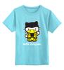"""Детская футболка классическая унисекс """"Hello Scorpion (Mortal Kombat)"""" - скорпион, смертельная битва, мортал комбат, scorpion, мк"""