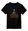 """Детская футболка классическая унисекс """"Star Wars. Darth Vader"""" - darth vader, звездные войны, дарт вейдер"""