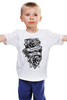 "Детская футболка ""Forever young "" - цветы, tattoo, тату, розы, roses, дотворк, tm kiseleva"
