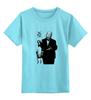 """Детская футболка классическая унисекс """"Hitchcock"""" - хичкок, альфред хичкок, alfred hitchcock"""
