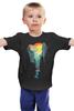 """Детская футболка классическая унисекс """"Краски Дня"""" - арт, day, солнце, город, sun, абстракция, city, bright"""
