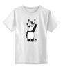 """Детская футболка классическая унисекс """"Панда вандал"""" - животные, панда, panda, wwf"""