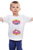 """Детская футболка классическая унисекс """"Simpsons x Portal"""" - симпсоны, гомер симпсон, the simpsons"""