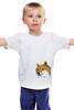 """Детская футболка классическая унисекс """"Doge WOW!"""" - интернет, мем, wow, doge, собакен"""