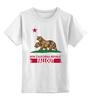 """Детская футболка классическая унисекс """"Fallout"""" - игры, медведь, геймер, калифорния, fallout"""