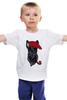 """Детская футболка классическая унисекс """"Шотландский терьер (Скотч-терьер)"""" - dog, трубка, скотч-терьер, scottish terrier, шотландский терьер"""