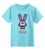 """Детская футболка классическая унисекс """"Бонни ( Bonnie The Bunny)"""" - бонни, five nights at freddy's, пять ночей у фредди, bonnie"""