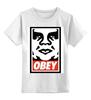 """Детская футболка классическая унисекс """"obey."""" - obey, street art, contemporary"""