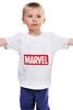 "Детская футболка ""Marvel"" - комиксы, классная, крутая, marvel, spider man, марвел, железный человек, iron man, капитан америка, локи"