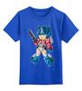 """Детская футболка классическая унисекс """"Оптимус Прайм (Трансформеры)"""" - optimus prime, оптимус прайм"""