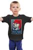 """Детская футболка классическая унисекс """"Wow Doge"""" - мем, wow, doge, собакен, пёсенька"""