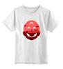 """Детская футболка классическая унисекс """"Марио (Mario)"""" - марио, супербратья марио, mario"""