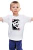 """Детская футболка классическая унисекс """"JOKER """" - joker, карта, улыбка, злодей, готэм"""