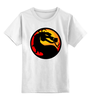 """Детская футболка классическая унисекс """"Мортал Комбат (Mortal Kombat)"""" - mortal kombat, файтинг, мортал комбат, мк"""