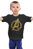 "Детская футболка ""Мстители (Лего)"" - мстители, avengers, lego"