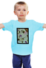 """Детская футболка классическая унисекс """"Леди Гага (Lady Gaga)"""" - gaga, lady gaga, леди гага"""