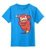 """Детская футболка классическая унисекс """"Покемон Молния"""" - flash, молния, pokemon, покемон, флэш"""