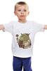 """Детская футболка """"Fat Yoda"""" - star wars, yoda, звездные войны, йода, обжорство"""