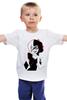 "Детская футболка классическая унисекс ""Харли Квин - карта"" - джокер, бэтмен, харли квинн, harley quinn"