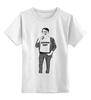 """Детская футболка классическая унисекс """"Ахтунг"""" - авторские майки"""