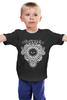 """Детская футболка классическая унисекс """"Ulver"""" - музыка, арт, волки, авангардный метал"""