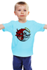 "Детская футболка ""Angel & Devil"" - skull, череп, ангел, angel, дьявол, good, evil, devil"