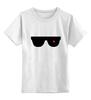 """Детская футболка классическая унисекс """"Очки Терминатора"""" - очки, терминатор, арни, шварц, the terminator"""
