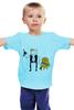 "Детская футболка ""Star Wars Time"" - star wars, adventure time, время приключений, хан соло, finn & jake"