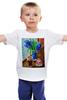 """Детская футболка классическая унисекс """"гиацинтовый латте"""" - coffee, breakfast, время кофе, latte"""