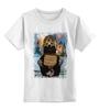 """Детская футболка классическая унисекс """"В ожидании новых санкций"""" - арт, bear, медведь, москва, russia, путин, putin, санкции"""
